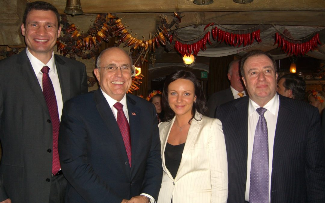 May, 2008 – Former Mayor of NYC, Rudolph Giuliani visits Kiev